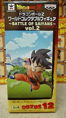 DRAGON BALL Z WCF BATTLE OF SAIYANS Vol.2 GOKU GOKOU KID NEW FIGURA FIGURE NUEVA