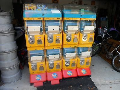 Tomy Gacha Vending Machines. 4 Compartments 1 Display For Each  250.00 each