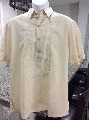 New Philippines Barong Tagalog S/l Size Large