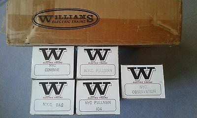 Williams Electric Trains O Gauge NYC 5 Car Madison Set #2503 ~ TS