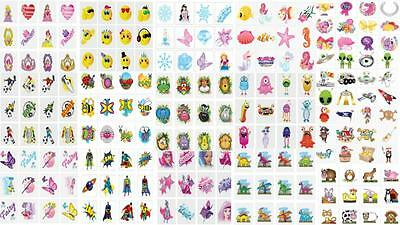 Temporary Tattoo's Ideal for Children Party Bag or Xmas Stocking Filler