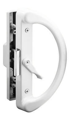 Prime-Line Products C 1223 Sliding Door Handle, Clam Latch, White