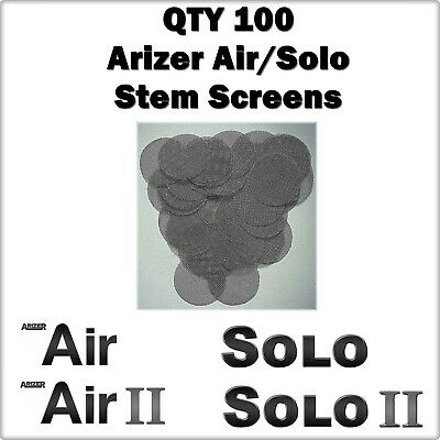 QTY 100 - Arizer Solo / Air Stem Screens ( Screen )