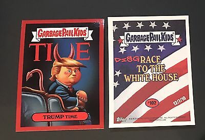 Garbage Pail Kids 2016 Trump Time #122 Disgrace to the White House Donald Devil