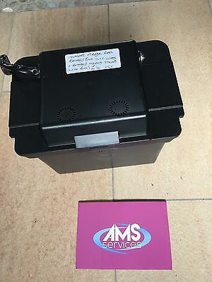 Invacare Mirage Electric Wheelchair Rear Battery Box Inc Wires And Strap - Parts