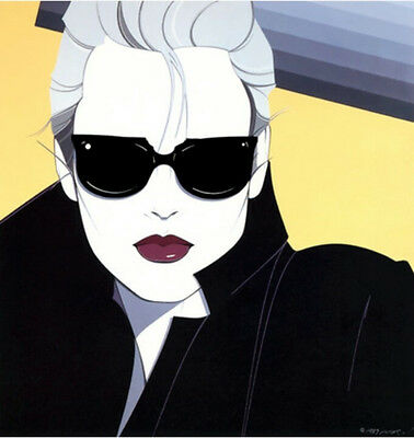 Patrick Nagel NC5 Girl with Sunglasses
