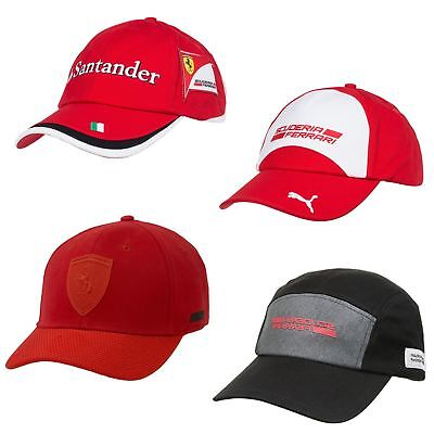 Puma Formula 1 & Scuderia Ferrari Motorsport Cap in Black & Red