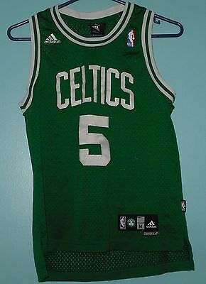 0b5f70496ad2 GREEN ADIDAS KEVIN Garnett   5 Boston Celtics NBA Jersey Size Medium ...