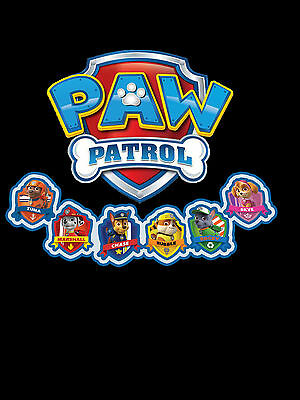 Paw Patrol To The Rescue - Adult  T-Shirt - Many Sizes & Colors - Free Shipping!