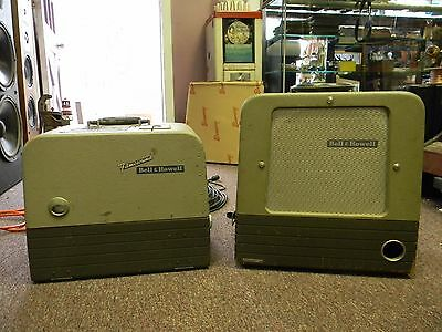 Bell and Howell Filmosound  DES 285 16mm Projector w/ Stand Alone Speaker