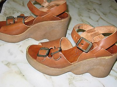 Famolare Shoes SUPER RARE HI THERE Made in Italy Women's 7 1/2 M RARE Vintage
