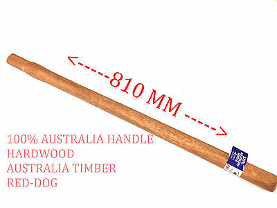 1 PCS SPLUTTER HANDLE 810 MM SPOTTED GUM 100% AUSTRALIA MADE (Brand New)