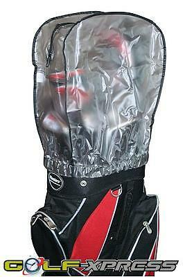 Masters Golf - Clear Bag Hood Cover - With Zipped Opening