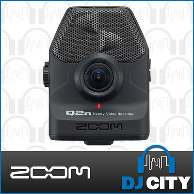 Zoom Q2n Handy Portable 1080P Video Recorder w/ Studio Quality Audio Recordings
