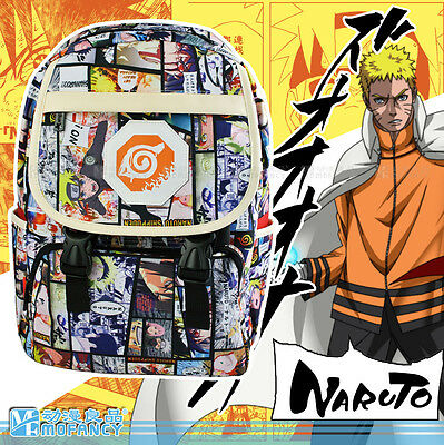 Anime NARUTO Backpack bag cosplay Student backpack Shoulder School bag gift