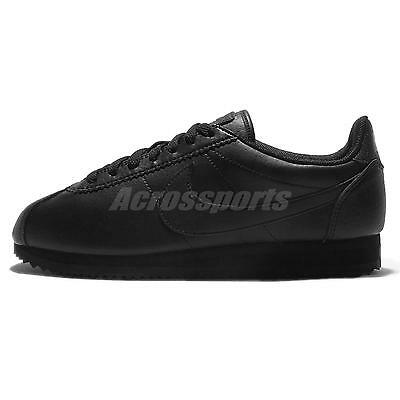 Wmns Nike Beautiful x Powerful Classic Cortez STR LTR Black Womens 884922-001