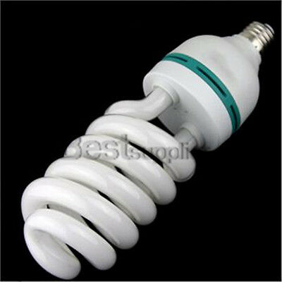 85W 5500K Photo Studio Compact Fluorescent Bulb Day Light Photography Lamp