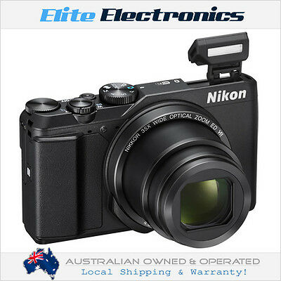 Nikon A900 Black Coolpix Digital Full 4K Uhd Camera 20Mp 35X Optical Zoom
