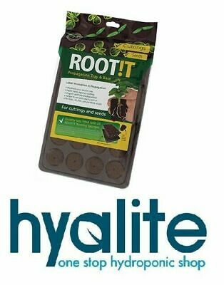 Rootit Propagation Tray/base & 24 Plugs/sponges Root!t Root It Seedlings Clones
