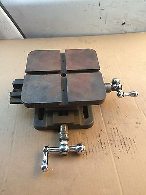 Atlas Craftsman X Y Compound Milling Table 7""