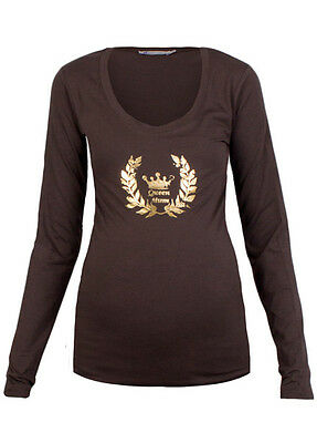 Queen mum - Insignia Tee - FINAL SALE