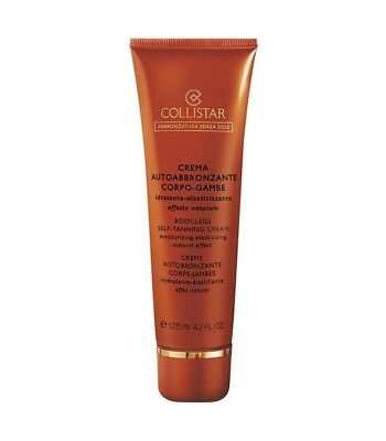 Collistar Perfect Body Self Tan Cream Crema Autoabbronzante Corpo Gambe 125 ml