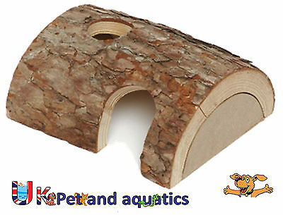 Natural Wooden Home, Hide, For Hamster & Small Rodents