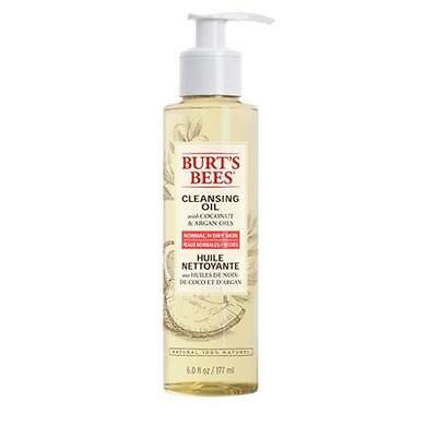 Burts Bees Coconut and Argan Oil Facial Cleansing Oil 177ml Bottle FREE P&P
