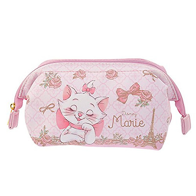 ❦ Disney Store Japan limited Marie Cat pouch case Dream Aristocats pink F/S ❦
