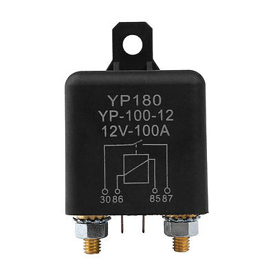 Car DC 12V 100A Relay 4 Pin RL180 Heavy Duty Install Amp Style Chargeover
