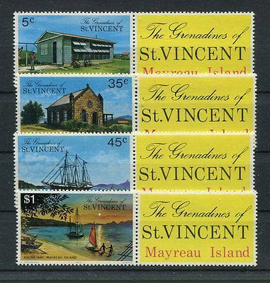 st vincent and grenadines 1976 turismo 94-97 MHN