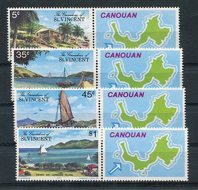 st vincent and grenadines 1977 turismo 118-21 MHN