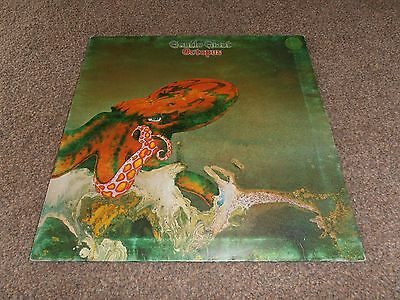 Gentle Giant Octopus Lp Original Vertigo Swirl First Pressing Vinyl