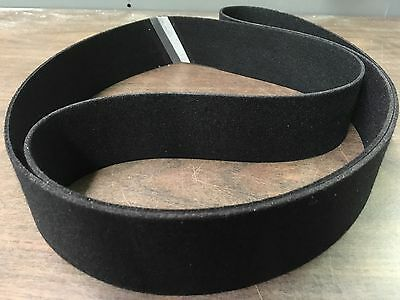 "2""x 72"" Sanding Belt Black Felt Polishing Belt"