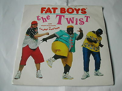 Fat Boys ( Chubby Checker Vocals) The Twist - Urban 7""