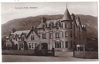 AVIEMORE Cairngorm Hotel, Postcard Pub by JS Lawrence P.O. Unused