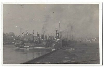 BANFF View in the Harbour, RP Postcard, Plain Back