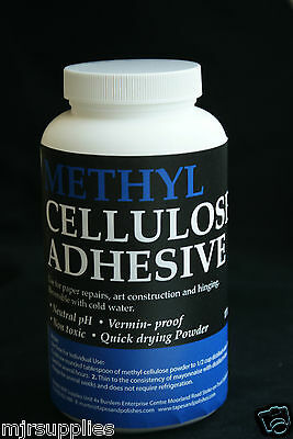 METHYL CELLULOSE ADHESIVE GLUE NEUTRAL PH ARCHIVAL170 GRAM (6oz)