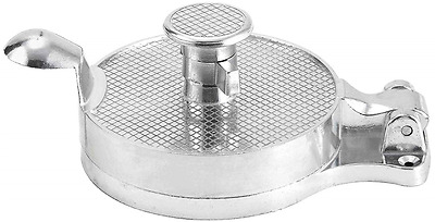 Winco HP-4 Adjustable Hamburger Press, Aluminum