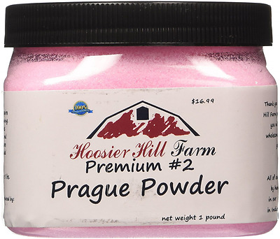 Hoosier Hill Farm Prague Powder No.2 (#2) Pink Curing Salt, 1 Lb. (454G)