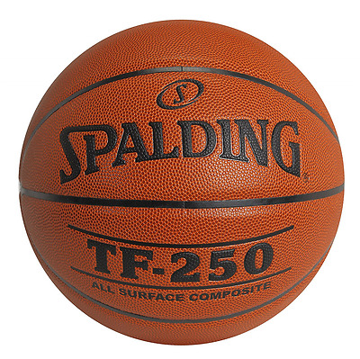 Spalding TF-250 Indoor Outdoor Basketball, 29.5-Inch