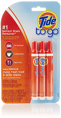 Tide To Go Stain Remover, 3-Count- Packaging May Vary