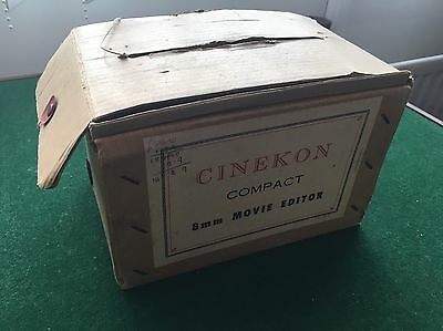 Vintage Cinekon 8mm Editor Boxed