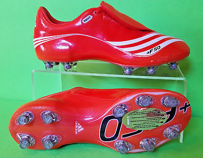 Adidas F50.7 Tunit Uk 11 Us 11,5 Red Football Boots Soccer Cleats