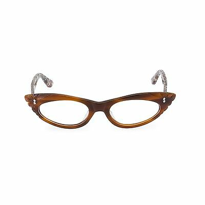 Rockabilly 50s 60s style Cateye GINA Tawny/Leopard Readers, clear+1.25 +1.5 +2.0