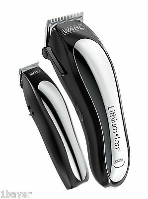 Wahl Lithium Ion Cordless Beauty Salon Hair Remover Trimmer Shaver Clipper