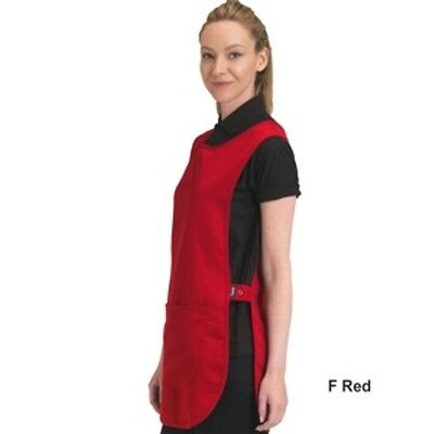 Polyester Tabard With Pocket RED & 11 Other Colours & 2 Sizes to Choose From