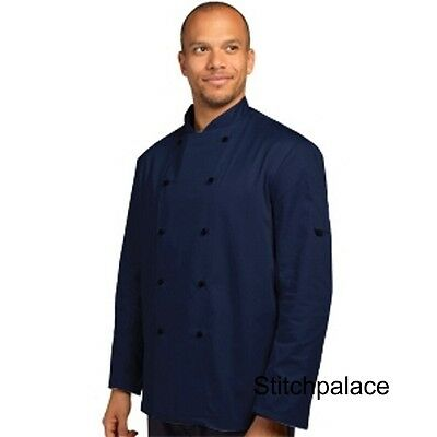 Denny's Technicolour Chef Jacket Navy & 10 other Colours Available XS-2XL