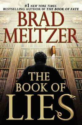 The Book of Lies by Brad Meltzer Signed 1st edition HC/DJ