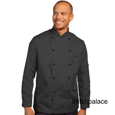 Dennys Technicolour Chef Jacket Storm Grey & 10 other Colours Available XS-2XL